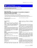 "Báo cáo y học: ""Black Hawk Down: The evolution of resuscitation strategies in massive traumatic hemorrhage"""