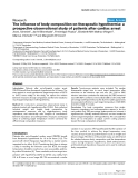 """Báo cáo y học: """"The influence of body composition on therapeutic hypothermia: a prospective observational study of patients after cardiac arre"""""""