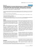 """Báo cáo y học: """"Norepinephrine to increase blood pressure in endotoxaemic pigs is associated with improved hepatic mitochondrial respiration"""""""