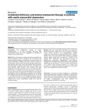 """Báo cáo y học: """"Combined milrinone and enteral metoprolol therapy in patients with septic myocardial depression"""""""