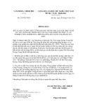Thông báo số 237/TB-VPCP