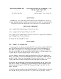 Quyết định số 54/2011/QĐ-TTg