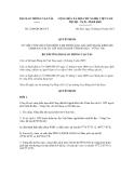 Quyết định số 2240/QĐ-BGTVT