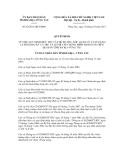 Quyết định số 62/2011/QĐ-UBNDCỘNG HÒA XÃ HỘI