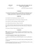 Nghị định số 95/2011/NĐ-CP