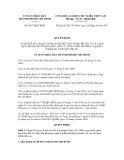 Quyết định số 4837/QĐ-UBND