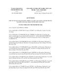 Quyết định số 4524/QĐ-UBND