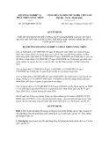 Quyết định số 2455/QĐ-BNN-TCLN