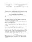Quyết định số 4836/QĐ-UBND