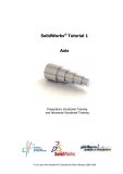 SolidWorks Tutorial - Part 1