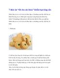 """7 thức ăn """"tốt cho sức khỏe"""" khiến bạn tăng cân"""