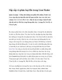Sắp xếp và phân loại file trong Lion Finder
