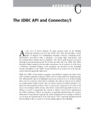 My SQL and Java Developer's Guide phần 9