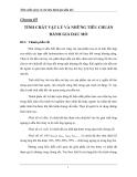 Chương 3: Tính chất vật lý và chỉ tiêu đánh giá dầu thô