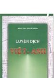 Ebook Rèn luyện kỹ năng dịch Tiếng Anh: Phần 1 - Minh Thu, Nguyễn Hòa