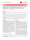 """Báo cáo y học: """" Assessment and histological analysis of the IPRL technique for sequential in situ liver biopsy"""""""