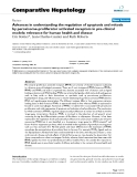"""Báo cáo y học: """"Advances in understanding the regulation of apoptosis and mitosis by peroxisome-proliferator activated receptors in pre-clinical models: relevance for human health and disease"""""""