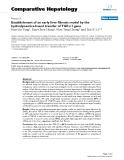 """Báo cáo y học: """"Establishment of an early liver fibrosis model by the hydrodynamics-based transfer of TGF-β1 gene"""""""