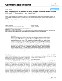 "Báo cáo y học: ""HIV transmission as a result of drug market violence: a case report"""