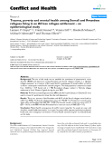"Báo cáo y học: ""Trauma, poverty and mental health among Somali and Rwandese refugees living in an African refugee settlement – an epidemiological study"""