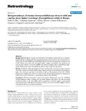 "Báo cáo y học: "" Seroprevalence of simian immunodeficiency virus in wild and captive born Sykes' monkeys (Cercopithecus mitis) in Kenya"""