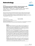 """Báo cáo y học: """" Increased proviral load in HTLV-1-infected patients with rheumatoid arthritis or connective tissue disease"""""""