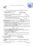Bài tập quá trình nhân đôi ADN
