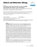 """Báo cáo y học: """"Interleukin-4 (IL4) and Interleukin-4 receptor (IL4RA) polymorphisms in asthma: a case control study"""""""