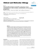 """Báo cáo y học: """"The basophil activation test by flow cytometry: recent developments in clinical studies, standardization and emerging perspectives"""""""