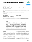 "Báo cáo y học: ""The Hoover's Sign of Pulmonary Disease: Molecular Basis and Clinical Relevance"""