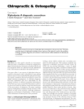 """Báo cáo y học: """"Xiphodynia: A diagnostic conundrum"""""""