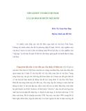 VIẾT LỊCH SỬ VĂN HOÁ VIỆT NAM: LÍ LUẬN PHẢI ĐI TRƯỚC MỘT BƯỚC