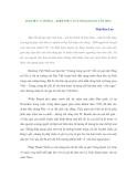 ĐẠO ĐỨC VĂN HÓA – KHỞI THỦY CỦA NGOẠI GIAO VĂN HÓA