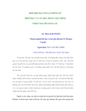 THỜI HIỆN ĐẠI CÒN LẠI NHỮNG GÌ? TRIẾT HỌC VÀ VĂN HOÁ TRONG TIẾN TRÌNH TỚI KỶ NGUYÊN TOÀN CẦU