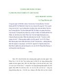 VĂN HOÁ, ĐỐI TƯỢNG VĂN HOÁ VÀ PHƯƠNG PHÁP NGHIÊN CỨU LIÊN NGÀNH