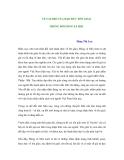 VỀ VAI TRÒ CỦA ĐẠO ĐỨC TÔN GIÁO TRONG ĐỜI SỐNG XÃ HỘI