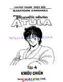 Truyền nhân Atula_tập 4