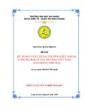 Luận văn: Kế hoạch xây dựng thương hiệu khoai lang Ba Hạo