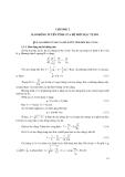 Lý thuyết dao động - Chương 1