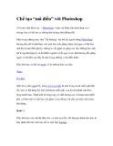 """Chế tạo """"mã điểu"""" với PhotoshopVới một chút khéo tay + Photoshop + một vài"""