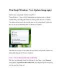 Thủ thuật Windows 7 (có Update hàng ngày)