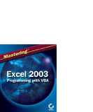 Mastering Excel 2003 Programming with VBA phần 1