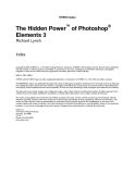 the hidden power of phtoshop elements 3