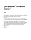 the hidden power of phtoshop elements 3