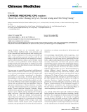 "Báo cáo y học: ""CHINESE MEDICINE (CM) matters"""