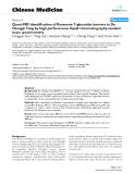"Báo cáo y học: ""Quasi-MSn identification of flavanone 7-glycoside isomers in Da Chengqi Tang by high performance liquid chromatography-tandem mass spectrometry."""