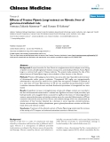 """Báo cáo y học: """" Effects of Fructus Piperis Longi extract on fibrotic liver of gamma-irradiated rats"""""""