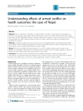 """Báo cáo y học: """" Understanding effects of armed conflict on health outcomes: the case of Nepal"""""""