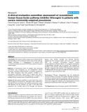 "Báo cáo y học: ""A clinical evaluation committee assessment of recombinant human tissue factor pathway inhibitor (tifacogin) in patients with severe community-acquired pneumonia"""