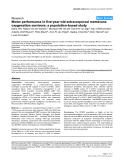 """Báo cáo y học: """"Motor performance in five-year-old extracorporeal membrane oxygenation survivors: a population-based study"""""""